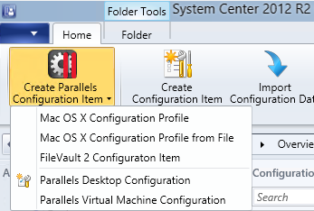 Available Configuration Items