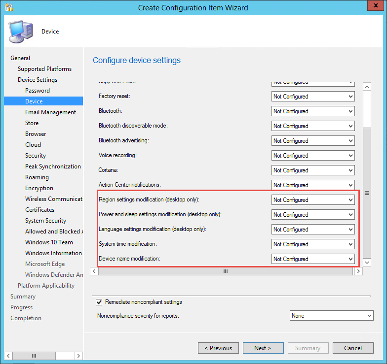 New Hybrid Features in Configuration Manager 1706